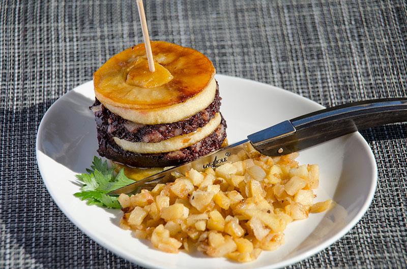 idees-recettes-du-tarn-et-de-l-aveyron-mille-feuilles-de-boudin-galabart-charcuterie-serres